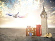 Flight To London, Great Britai...