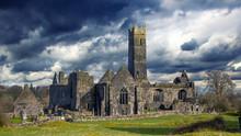 Quin Abbey Ruin, County Clare, Ireland