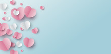 Valentines Day Banner Design O...