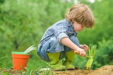 Organic Farming. The Child Wor...