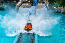 Water Slides In Water Park Of China