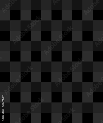 abstract seamless black square pattern background - 316393809