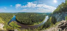 Beautiful Panoramic View Of Th...