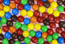 Colorful Candy Sprinkles Background, Texture.