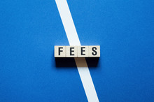 Fees Word Concept On Cubes