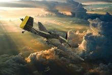 3D Rendering Of A World War Tw...