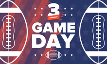 Game Day. American Football Pl...
