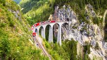 Landwasser Viaduct In Filisur,...