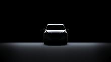Back Light Electric Sports Car...