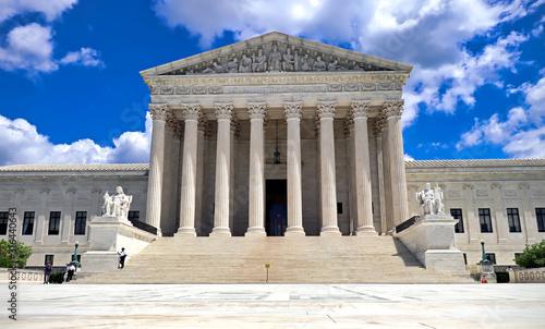 Obraz na plátne U.S. Supreme Court building in Washington DC