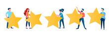 Five Stars Concept Vector Illu...