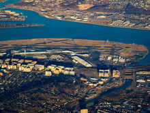 Aerial View Of Washington Reagan National Airport (DCA), Washington, DC