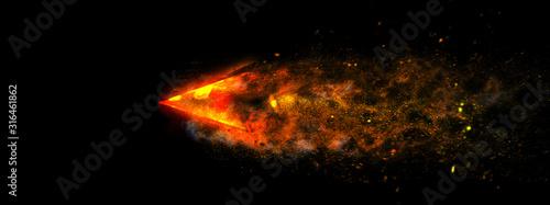 Fotografía 抽象的な火の矢