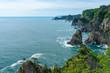 【岩手県田野畑村北山崎】高さ200mの断崖が連なる景勝地、北山崎はまさに息をのむ海のアルプス