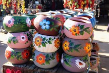 Beautiful Colorful Mexican Pot...