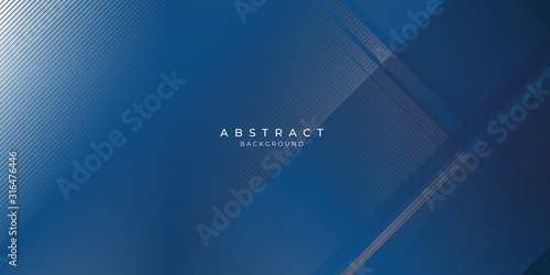 Fotomural Abstract background dark blue with modern corporate concept.