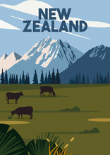 New Zealand Vector Illustratio...