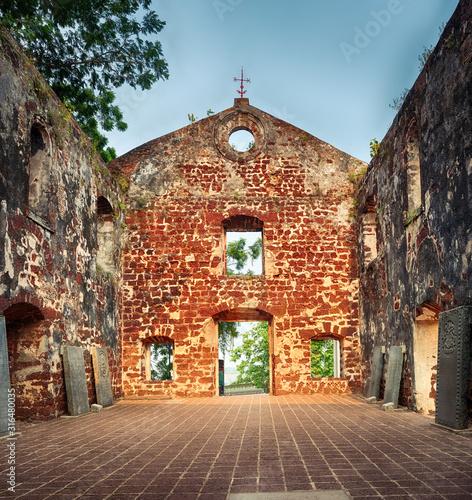 Saint Paul's Church in Malacca City, Malaysia #316480035