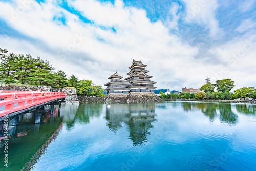 Matsumoto Castle in Matsumoto City, Nagano, Japan