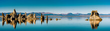 Panorama Spieelung Mono Lake U...
