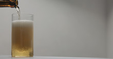 Pour Apple Cider Into Glass On...