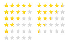 Star Rating Vector Isolated Ic...