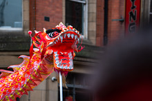 Dancing Dragon In Chinese New ...