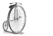 Antique High Wheel Bicycle /ol...