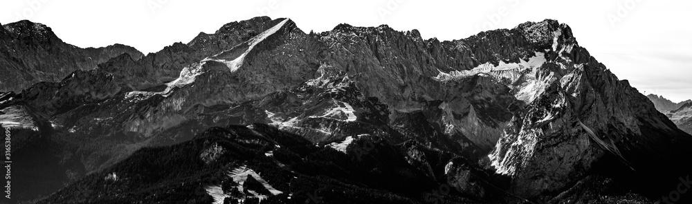 Fototapeta Zugspitze Panorama