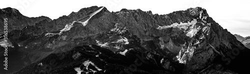 Obraz Zugspitze Panorama - fototapety do salonu