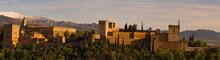 Alhambra Palace In Granada, Sp...