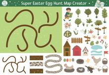 Easter Egg Hunt Map Creator. S...