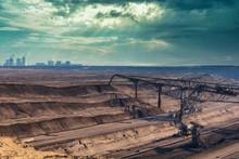 Huge Coal Excavator In Lusatia...