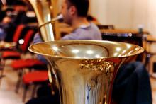 Tuba Brass Instrument Detail ....