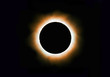 Solar corona full eclipse