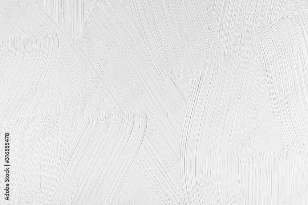 Fototapeta Abstract background, wooden surface painted with white paint