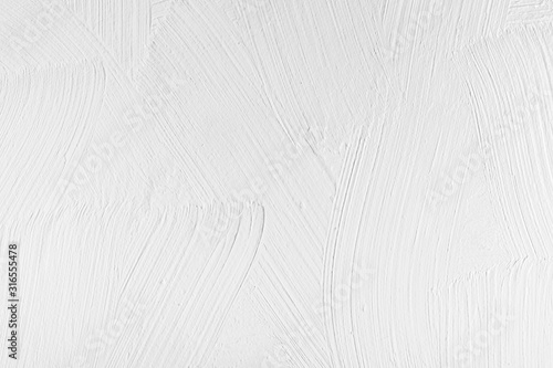 Obraz Abstract background, wooden surface painted with white paint - fototapety do salonu