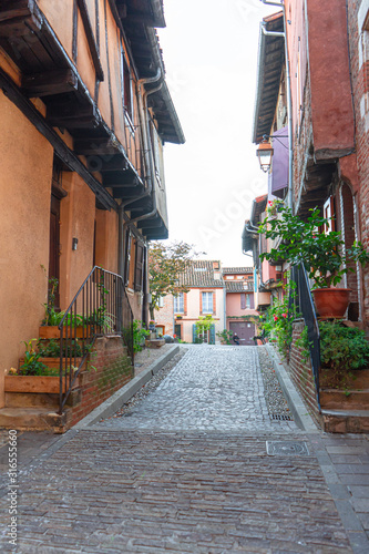 Albi in a summer sunny day,France Canvas Print