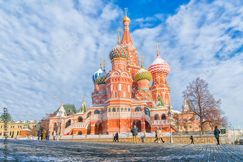 St. Basil's Cathedral in Moscow, Russia Wallpaper Mural