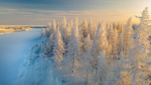 Beautiful Winter Landscape Of...