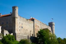 Toompea Castle On Toompea Hil...