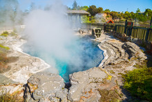 Geothermal Valley Geyser At Wh...