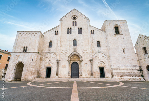 Saint Nicholas Basilica (Basilica di San Nicola) in old town Bari Wallpaper Mural