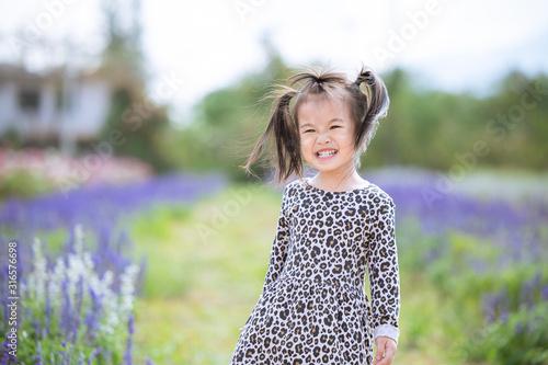 baby smile in the garden © Voradech Triniti