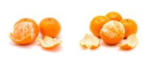 Tangerine Or Mandarin Fruit Is...