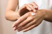Skincare. Close Up View Of Wom...