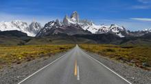 The Road To El Chalten - Mt Fi...