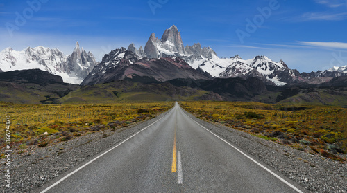 The Road to El Chalten - Mt Fitzroy in all of it's glory
