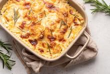 Potato Casserole With Cream, G...
