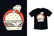 Burger Monster With Hairstyle ...